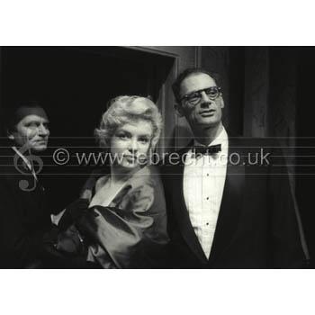 Marilyn Monroe & Arthur Miller by BrianSeed
