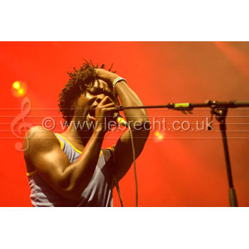 Kele Okereke from Bloc Party (Dosfotos)