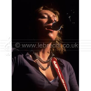 Martha Wainwright - Canadian - American folk / pop singer performing at the Wychwood Festival, 2006.