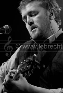 Guy Garvey - of Elbow performing in Bristol, November 2005.