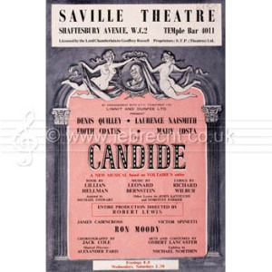 Early Candide programme. # 62143