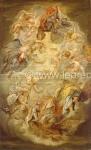 Apotheosis of the King James I.