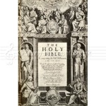 The Holy Bible published 1611 known as the King James' version.